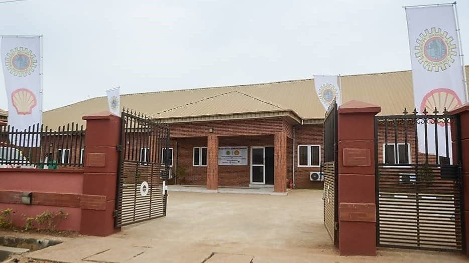 Ogijo Medical Centre, built, furnished and equipped by the Nigerian National Petroleum Corporation and Shell Nigeria Exploration and Production Company of Nigeria Limited.